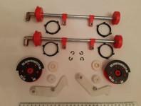 Ремкомплект NCR пик-модуля (с осями) 445-0704987